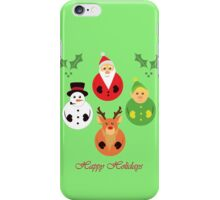 Happy Holidays! iPhone Case/Skin