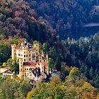 Schloss Hohenschwangau 1 by Charles Kosina