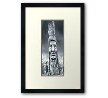 big chief Framed Print