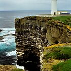 Noup Head & Lighthouse by WatscapePhoto