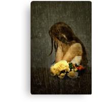 Lonely Bride... Canvas Print