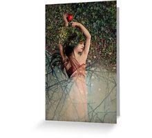 Snow White (Schneewittchen) Greeting Card