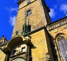 Orloj v Praze by davi9
