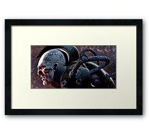 Battle scars Framed Print