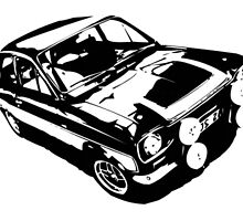 Ford Escort Mk 1 Mexico by Adrian Jones