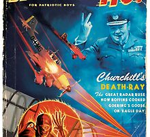 Churchill's Death Ray by alextomlinson