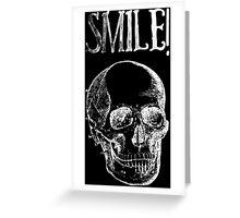 Smile! - White Greeting Card