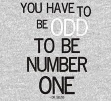 You have to be odd by Jo Holden