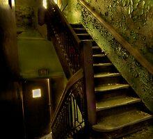 Silent Sunlit Stair. by Glenn-Patrick Ferguson