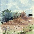 Our neighbour's fence by Maree  Clarkson