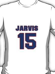 National Hockey player Wes Jarvis jersey 15 T-Shirt
