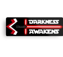 Darkness Awakens Metal Print