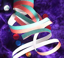 happy birthday ribbon by kristal ingersoll