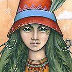 Eva (card) by NadiaTurner