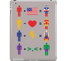 Birth of superheroes iPad Case/Skin