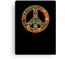 wonderful 70's Hippie  Canvas Print