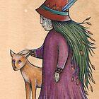 Hedge Dweller (Card) by NadiaTurner