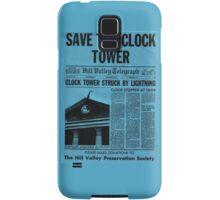 Save The Clock Tower Samsung Galaxy Case/Skin