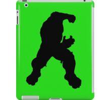Hulk silhouette iPad Case/Skin