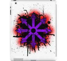 Choas symbol 1 iPad Case/Skin