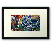 """Denpasar"" Illustration Florianne Vuillamy Framed Print"
