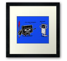 I´m your father!!! Framed Print