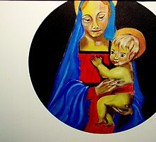 Mother and Child by Rusty  Gladdish