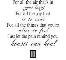 For all the joy by idafreja