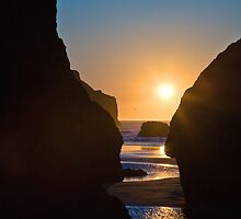 Bandon Beach Sunset (2984) by Barry L White