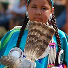 pow wow girl by Charles Butzin