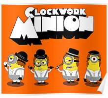 Clock Work Minion Poster