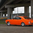 Orange Holden HG Monaro by John Jovic