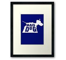 Bad Dog 3 Framed Print