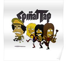 Spinal Tap kicking Muammar Gaddafi in the Butt Poster