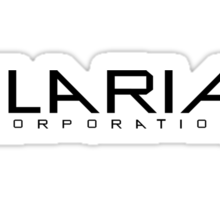 Helix - Ilaria Corporation - Black Sticker