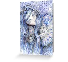 Snow Queen Greeting Card