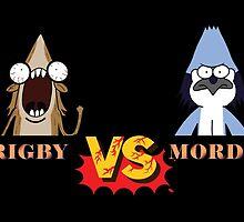 Regular Show. Death Kwon Do. Mordecai Vs Rigby. by Chris-Kobra-LA