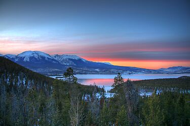 Lake Dillon East Sunset by Scott Ingram