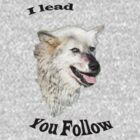 I Lead You Follow by Mark Baldwyn