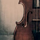 An Old Violin by Kadwell