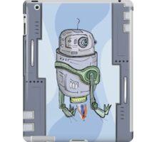 Robot Entering iPad Case/Skin
