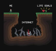 Internet VS Life goals by SxedioStudio
