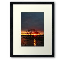 Flood Waters Framed Print