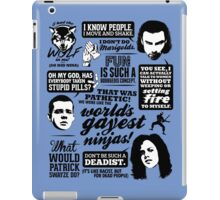 Being Human Quotes iPad Case/Skin