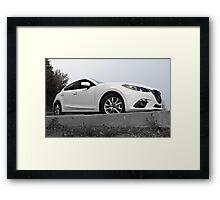 2015 Mazda3 Framed Print