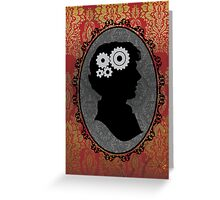Mind of a Genius Greeting Card
