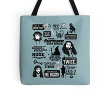 Hobbit Quotes Tote Bag