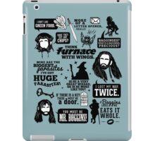 Hobbit Quotes iPad Case/Skin
