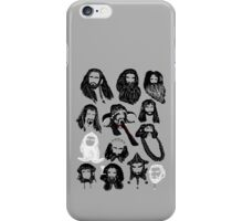 In the Company of Dwarves iPhone Case/Skin