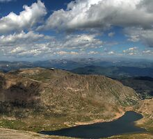 Mt Evans Panorama 2 by Scott Ingram